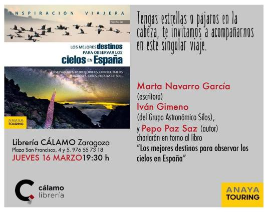 Los mejores destinos para observar los cielos de España. Presentación
